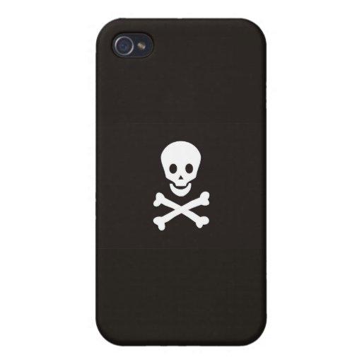 pirates flag case skull bones death dead iPhone 4 cases