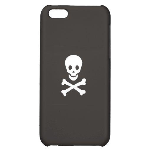 pirates flag case skull bones death dead iPhone 5C cases