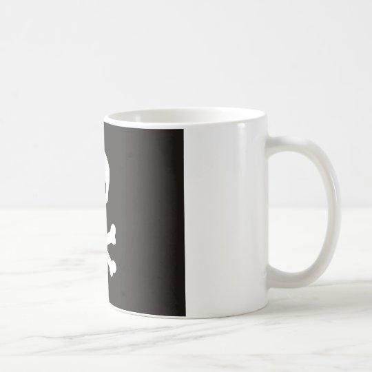 pirates flag coffee mug