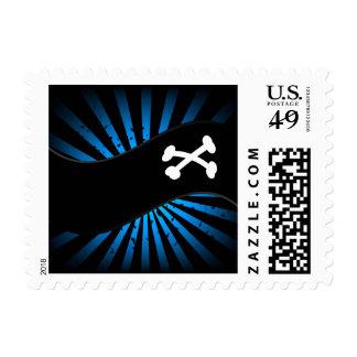 Pirates Flag Postage Stamp