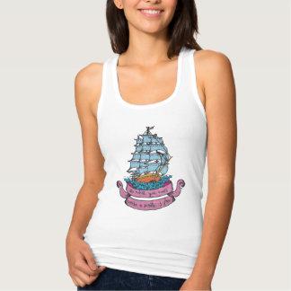 Pirates Frigate Slim Tank Top