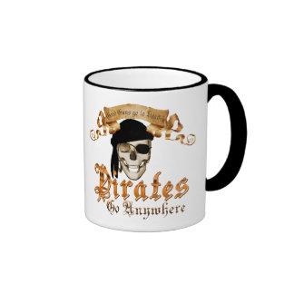 Pirates go anywhere ringer mug