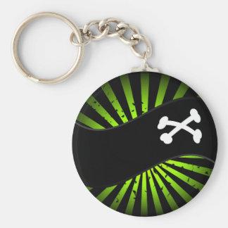 Pirates - Green Keychain