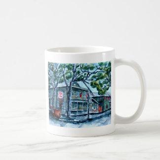 pirates house savannah georgia watercolor painting mugs