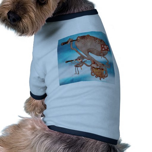 Pirates. Imagination and fantasy, cute and lovely. Dog Shirt