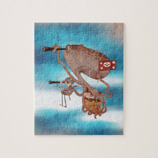 Pirates. Imagination and fantasy, cute and lovely. Jigsaw Puzzle