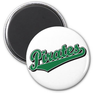 Pirates in Green Magnet