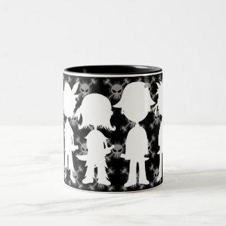 Pirates in Silhouette Mug