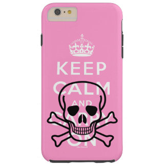 Pirates Keep Calm and Carry On Tough iPhone 6 Plus Case