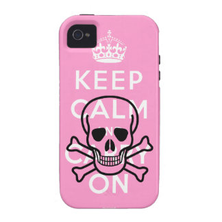 Pirates Keep Calm and Carry On iPhone 4 Case