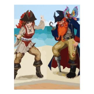 Pirates Letterhead