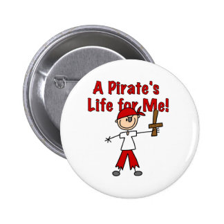 Pirate's Life for Me Buttons