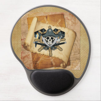 Pirates Life For Me Gel Mouse Pad