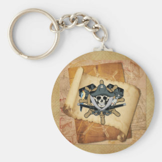 Pirates Life For Me Keychain
