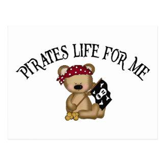 Pirates Life For Me Postcard