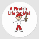 Pirate's Life for Me Sticker