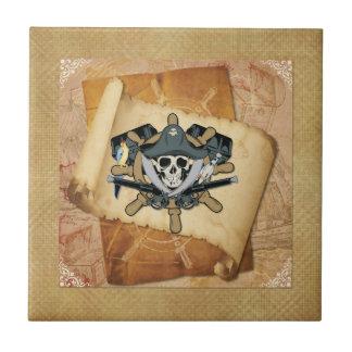 Pirates Life For Me Ceramic Tiles