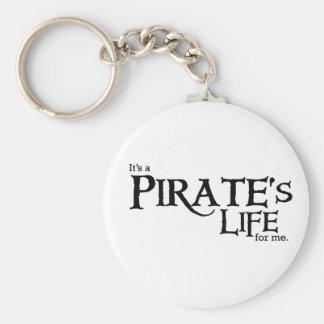 Pirates life ME Basic Round Button Keychain
