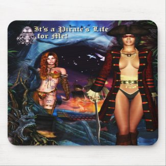Pirate's Life Mousepad