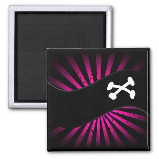 Pirates 2 Inch Square Magnet
