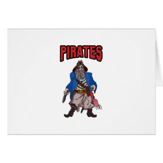 PIRATES MASCOT CARDS