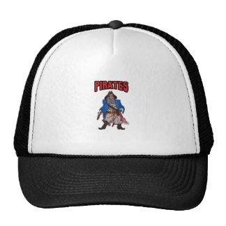 PIRATES MASCOT MESH HATS