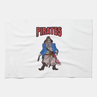 PIRATES MASCOT HAND TOWELS