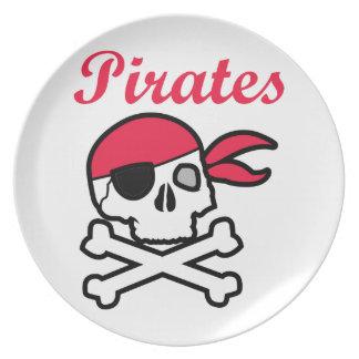 Pirates Melamine Plate