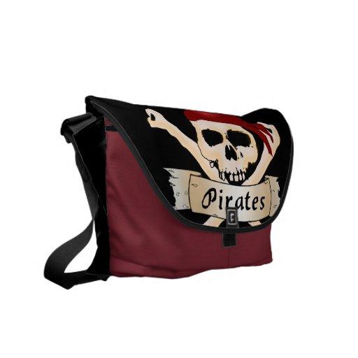 Pirates Messenger Bag