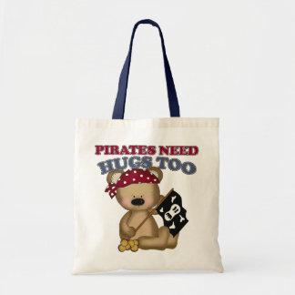 Pirates Need Hugs Too Budget Tote Bag