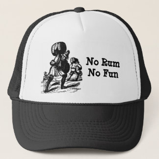Pirates Need Rum for Fun Trucker Hat