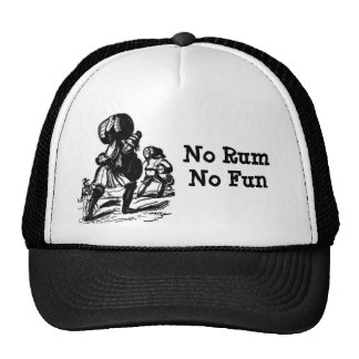 Pirates Need Rum for Fun Trucker Hat