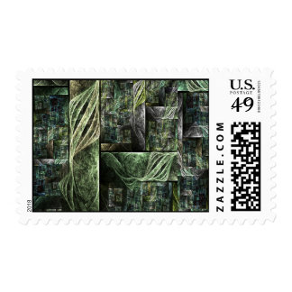 Pirates of mechanical sails postage