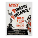 Pirates Of Penzance 1938 WPA Poster