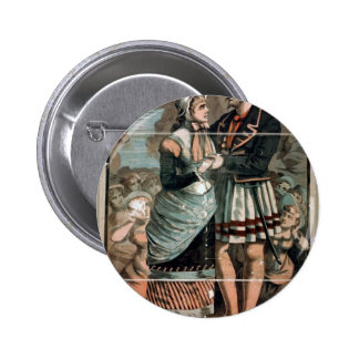 Pirates of Penzance Vintage Theater Button