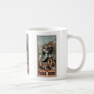 Pirates of Penzance Vintage Theater Classic White Coffee Mug