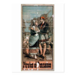 Pirates of Penzance Vintage Theater Post Card
