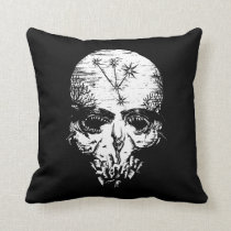 Pirates of the Caribbean 5 | A Cursed Fate Throw Pillow