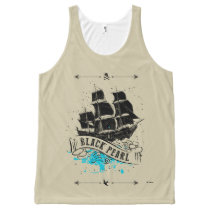 Pirates of the Caribbean 5 | Black Pearl All-Over-Print Tank Top