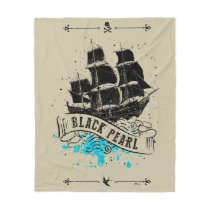 Pirates of the Caribbean 5 | Black Pearl Fleece Blanket