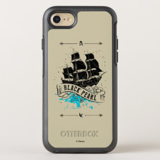 Pirates of the Caribbean 5 | Black Pearl OtterBox Symmetry iPhone 8/7 Case