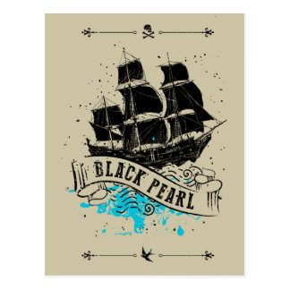 Pirates of the Caribbean 5 | Black Pearl Postcard