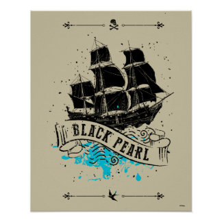 Pirates of the Caribbean 5 | Black Pearl Poster