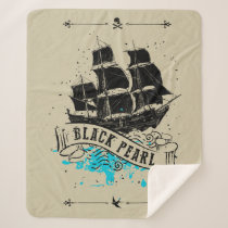 Pirates of the Caribbean 5 | Black Pearl Sherpa Blanket