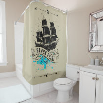 Pirates of the Caribbean 5 | Black Pearl Shower Curtain
