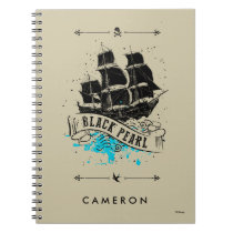 Pirates of the Caribbean 5 | Black Pearl Spiral Notebook