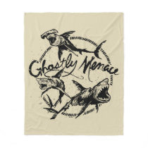 Pirates of the Caribbean 5 | Ghostly Menace Fleece Blanket