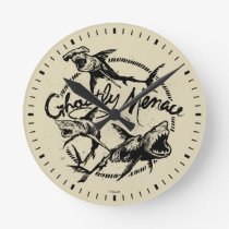 Pirates of the Caribbean 5   Ghostly Menace Round Clock