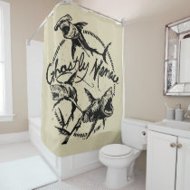 Pirates of the Caribbean 5 | Ghostly Menace Shower Curtain