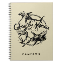 Pirates of the Caribbean 5 | Ghostly Menace Spiral Notebook